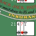 Wapfrog blackjack capture d'écran